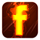 Facebook Fire Logo